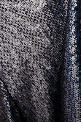 Donna Karan Sequined stretch-jersey maxi skirt
