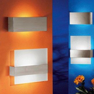 Eglo Nikita 1-Light Matte Nickel Wall/Ceiling Light