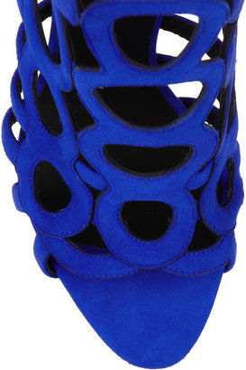 Giuseppe Zanotti Coline cutout suede sandals