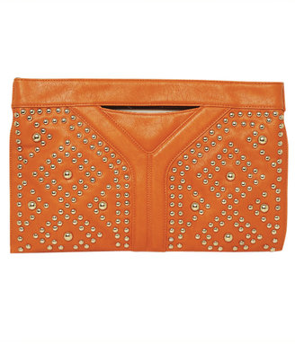 Arden B Studded Handle Clutch