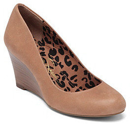 "Jessica Simpson Sampson"" Dress Wedge - Tan"