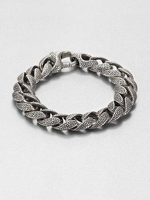 Stephen Webster Silver Rayskin Curb Link Bracelet