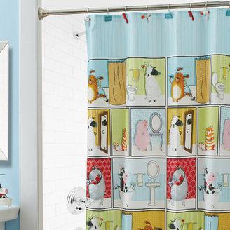 "Bed Bath & Beyond Barnyard Beauties 70"" x 72"" Fabric Shower Curtain"