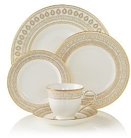Marchesa by Lenox Gilded Pearl 5-Piece Place Setting