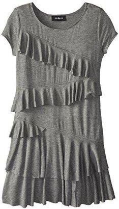 Amy Byer Big Girls' Asymmetrical Tiered Dress