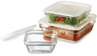 Libbey Save 'n Store Glass Bowls with Lids - 6-Piece Set