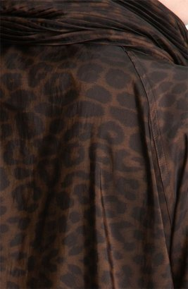 Mycra Pac Designer Wear 'Donatella' Scrunch Neck Travel Coat (Regular & Plus)