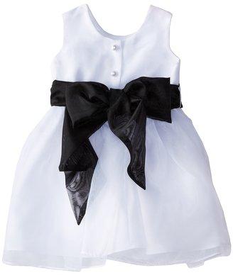 Us Angels Sleeveless Organza Dress (Infant)
