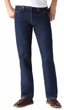 Levi's 501 Straight Leg Button Fly Jeans