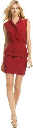 Sachin + Babi Crimson Wave Dress