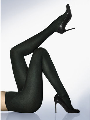 Wolford Black Cashmere-Silk Tights