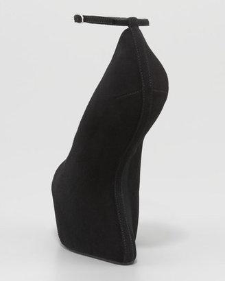 Giuseppe Zanotti Heel-Less Ankle-Strap Pump