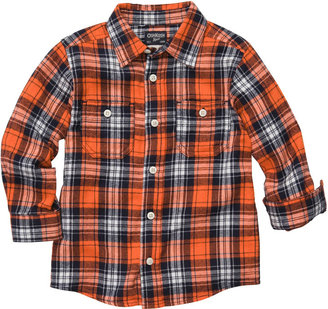 Osh Kosh Plaid Button-Front Shirt