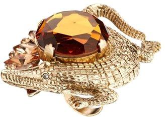 Asos Crocodile Cocktail Ring