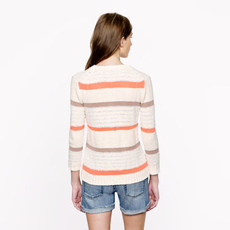 J.Crew Collection texture-stripe sweater