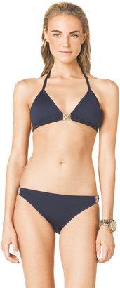 Michael Kors MICHAEL Triangle Bikini Top & Bottom with Hardware