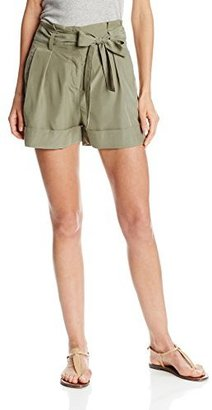 Vince Camuto Women's Paper Bag-Waist Short