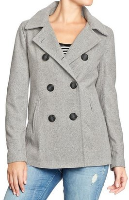 Old Navy Women's Classic Wool-Blend Peacoats