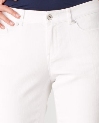 Coldwater Creek Curvy mini-bootcut jeans