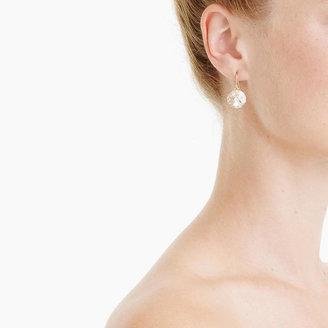 J.Crew Crystal Venus flytrap earrings