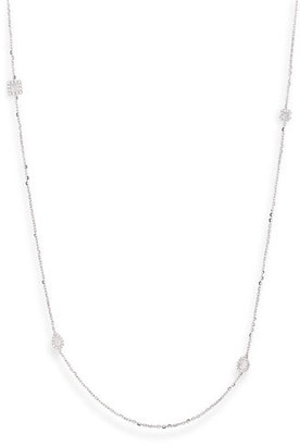 Nordstrom Bony Levy Diamond Station Long Necklace Exclusive)
