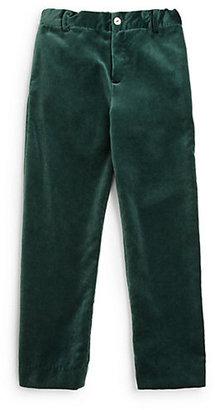 Oscar de la Renta Boy's Classic Velvet Pants