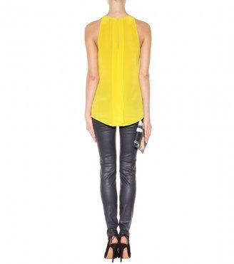 Victoria Beckham Denim SILK TANK TOP