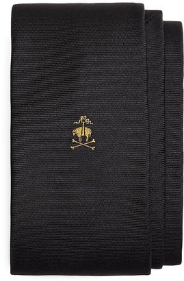 Brooks Brothers Placed Golden Fleece® and Crossbones Slim Tie