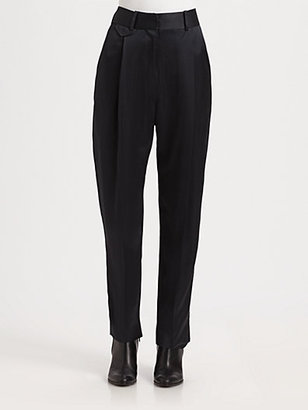 Christophe Lemaire Pleated Pants