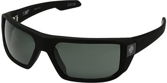 Spy Optic McCoy (Soft Matte Black/Happy Gray Green) Sport Sunglasses