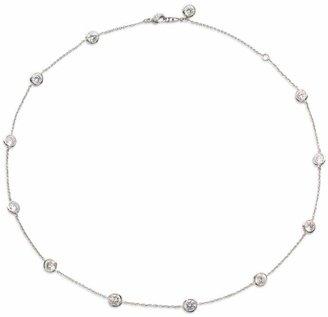 Adriana Orsini Bezel-Set Stationed Necklace
