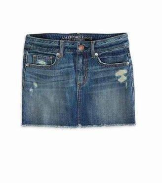 American Eagle AE Denim Mini Skirt