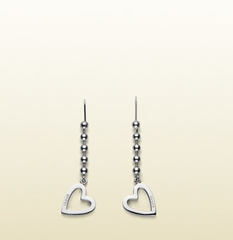 Gucci Earrings With Heart Motif