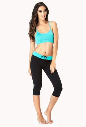 Forever 21 Low Impact - Textured Sports Bra