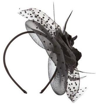 Charlotte Russe Silk Blossom Mesh Headband