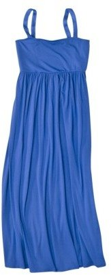 Mossimo Womens Plus-Size Sleeveless Smocked Maxi Dress - Assorted Colors
