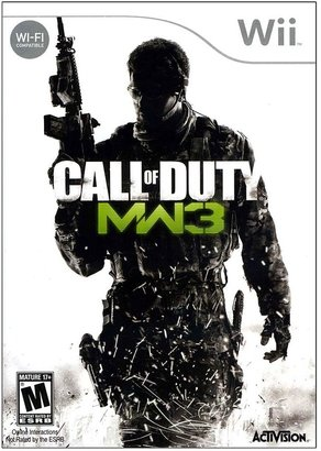 Nintendo Call of duty: modern warfare 3 for wii