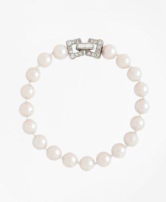 Brooks Brothers Glass Pearl Bracelet