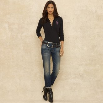 Ralph Lauren Blue Label Slim-Fit Boyfriend Jean