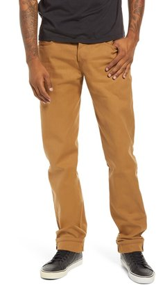 Naked & Famous Denim Weird Guy Slim Fit Selvedge Duck Canvas Jeans