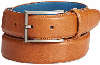 Ryan Seacrest Disctinction Perfect Tan Glove Leather Belt $45 thestylecure.com