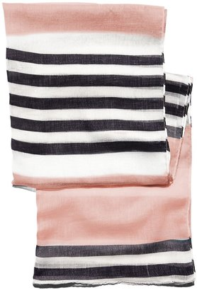 Vince Camuto Striped Oblong Scarf