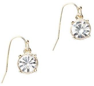 LOFT Round Stone Drop Earrings