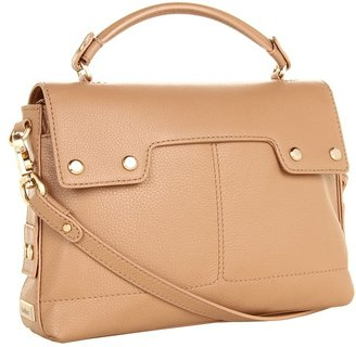 Botkier Kent Shoulder (Sand Cowhide) - Bags and Luggage