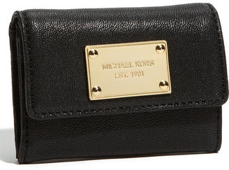 MICHAEL Michael Kors 'Jet Set' Leather Wallet Black One Size