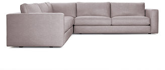 Design Within Reach Reid Corner Sectional in Leather