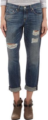 Rag and Bone Rag & Bone Distressed Boyfriend Jeans