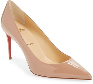 Christian Louboutin Kate Pointed Toe Patent Leather Pump