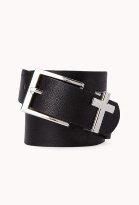 Forever 21 Cross Waist Belt
