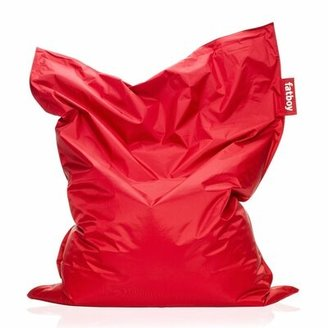 Fatboy Large Bean Bag Chair Fabric: Red